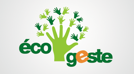 Design graphique et impression - conception du logo Eco Geste